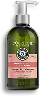 L'Occitane Aromachologie Intensive Repair Shampoo Enriched with 5 Essential Oils for Dry and Damaged Hair, 16.9 fl. oz.