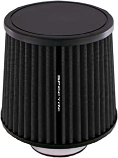 Spectre Performance HPR9888K Universal Clamp-On Air Filter: Round Tapered; 2.75 in (70 mm) Flange ID; 6.906 in (175 mm) Height; 6.063 in (154 mm) Base; 5.156 in (131 mm) Top