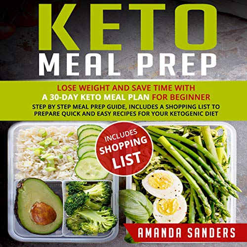 Keto Meal Prep audiobook cover art