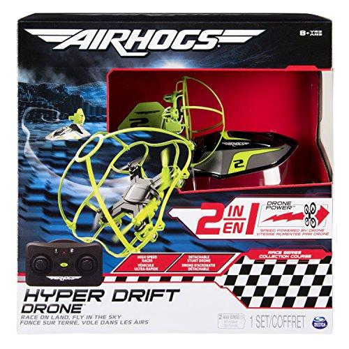 Air Hogs 6040078 Hyper Drift Drohne ( farblich sortiert)