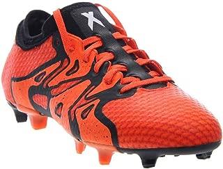 Mens X 15+ Primeknit FG/AG Soccer Athletic Cleats Orange 7.5