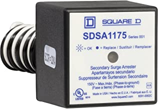 Square D by Schneider Electric SDSA1175 Panel Mounted Single Phase Type 1 Surge Protective Device