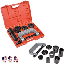 Mostbest Heavy Duty Ball Joint Press & U Joint Removal Tool Kit with 4x4 Adapters, for Most 2WD and 4WD Cars and Light Trucks for Removing and Installing Ball Joints, Brake Anchor Pins and U-Joints