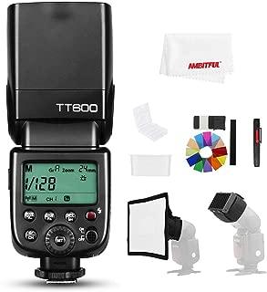 【正規品 技適マーク&日本語説明書】GODOX Thinklite TT600 2.4Gワイヤレスマスタースレーブカメラフラッシュフラッシュ内蔵のGodox Xシステムレシーバーと互換性があるCanon Nikonソニーオリンパス富士フイルムペンタックスカメラ