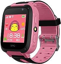 """Smart Horloge Voor Kinderen 1.2 """"Call Watch IPX6 Waterdichte Energiebesparende Zaklamp GPS Positioning Puzzel Game Card Ka..."""