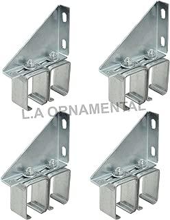 Double Sliding Wall Barn Door Track Hardware Box Rail Bracket Overhead Galvanized Steel