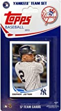 New York Yankees 2013 Topps MLB Baseball Factory Sealed 17 Card Limited Edition Team Set