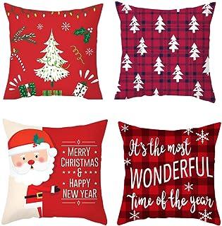 家で人気のあるクリスマス枕カバー、クリスマス枕カバー、クリスマス枕カバー、..ランキングは何ですか