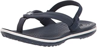 Crocs Kids' Boys and Girls Crocband Strap Flip Flop