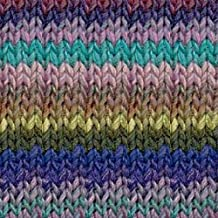 Noro Silk Garden Lite 2112 Purples, Turquoise, Hunter