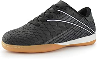 Hawkwell Kids Athletic Indoor Comfortable Soccer Shoes(Toddler/Little Kid/Big Kid)