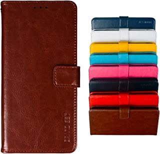 Case for Samsung Galaxy M01 Core PU Leather Wallet Flip has Kickstand function and Card Slots with Magnetic Buckle Phone C...