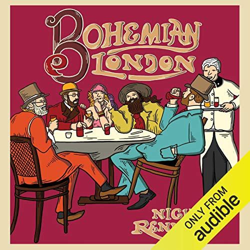 Bohemian London audiobook cover art