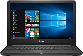 Dell Inspiron 15.6-inch HD Display Laptop PC, Intel Core i3-7130U 2.7GHz Processor, 8GB DDR4, 128GB SSD, Stereo Speakers, WiFi, Bluetooth, MaxxAudio, HDMI, No DVD, Intel HD Graphics 620, Windows 10