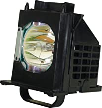 Ahlights 915B403001 Replacement Lamp with Housing for Mitsubishi TV WD-60735, WD-60737, WD-65737, WD-73737, WD-82837, WD-73735, WD-82737, WD-65736