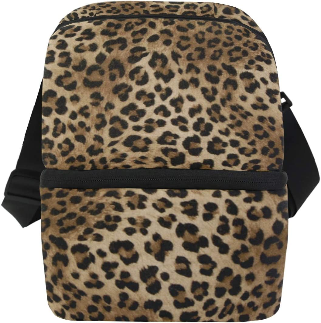 JOYPRINT Lunch Box Bag Animal Skin Large special price !! Max 70% OFF Leopard Tiger Insulate Print
