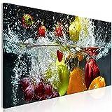 decomonkey Bilder Küche 150x50 cm XXL 1 Teilig