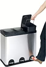 Best three section recycling bin Reviews