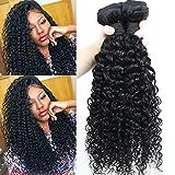 IFLY tissage brésilien court bouclé Lot de 3 tissage bresilien boucle cheveux naturel bresilienne vierges de tissages Lot de 70...