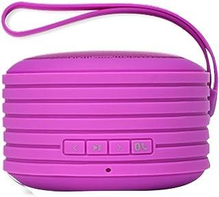 Fresh 'n Rebel RockBox Portable Bluetooth Speaker, Round, Purple