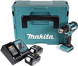 Makita DDF485RFJ wiertarko-wkrętarka akumulatorowa z 2 x 3,0 Ah 18 V