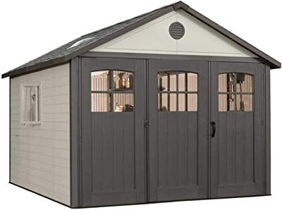 Amazon com : Richmond 16' x 28' Barn Wood Shed Kit : Garden