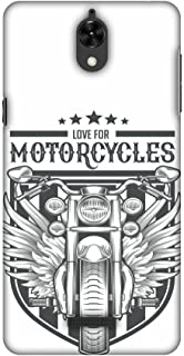 AMZER Slim Handcrafted Designer Printed Hard Shell Case for Coolpad Mega 2.5D - Love for Motorcycles 3