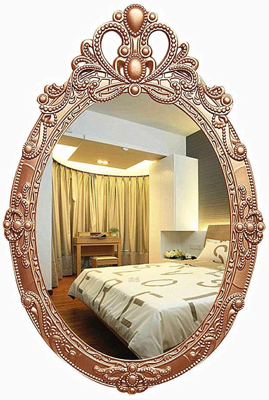 Bathroom Mirror European Antique Mirror Bathroom Vanity Mirror Wall Dormitory,A