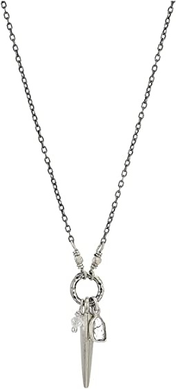 Diamond Slice Short Necklace
