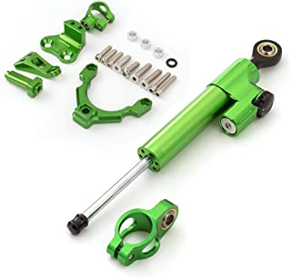 Motorcycle CNC Aluminum Alloy Adjustable Steering Damper Stabilizer Bracket Mounting Kit For Kawasaki Z1000 2014-2016 Aramox Steering Damper Stabilizer