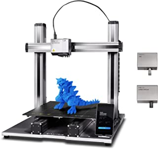 Snapmaker 3D Printer, 2.0 Modular 3-in-1 3D Printer with 3D Printing/Laser Engraving/CNC Carving, All Metal, Auto-Levelin...