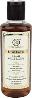 Khadi Hair Growth Oil - Rosemary & Henna (Paraben Free) Hair Oil 210Ml