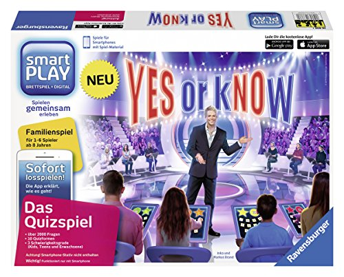 Ravensburger 26806 - Smartplay - Yes or Know, ohne Smartphone-Stativ