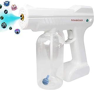 Cordless Nano Sprayer Machine Blue Light Disinfection Nano Steam Spray Gun Electric ULV Sprayer for Home Office,Clothes,Ca...