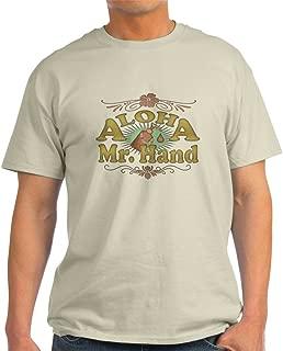 CafePress Aloha Mr Hand Light T-Shirt Cotton T-Shirt