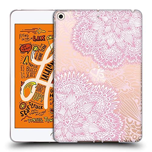 Head Case Designs Licenciado Oficialmente Julia Grifol Mandalas Dulces Bohemio Carcasa de Gel de Silicona Compatible con Apple iPad Mini (2019)