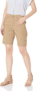 Lee womens Flex-To-Go Relaxed Fit Cargo Bermuda Short Cargo Shorts