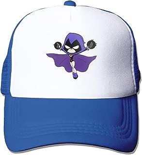 VANMASS Unisex Raven Teen Titans Go Strapback Baseball Cap Mesh Dad Hats Adjustable Snapback