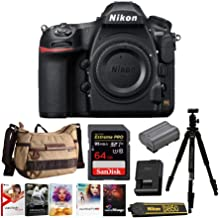 Nikon D850 Full Frame FX- Format Digital SLR Camera Body Holiday Bundle with 64GB SD Card and Accessories (5 Items)