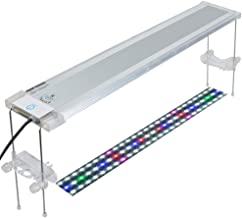 Pawfly LED Aquarium Light Adjustable Brightness Fish Tank Plant Lighting with Extendable Brackets, 18 to 24 Inch