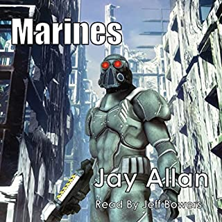 Marines: Crimson Worlds audiobook cover art