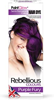 Rebellious Colours 100% Vegan Semi Permanent Hair Dye Colour