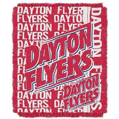 The Northwest Company NCAA Dayton Flyers Double Play Jacquard Throw, 48  x 60
