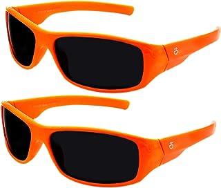 Kids Sunglasses Boys & Girls (2 pack) Wrap Around Sports...