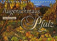 Augenschmaus Pfalz (Tischkalender 2022 DIN A5 quer): Eine Bildreise durch die Jahreszeiten der Pfalz (Monatskalender, 14 Seiten )