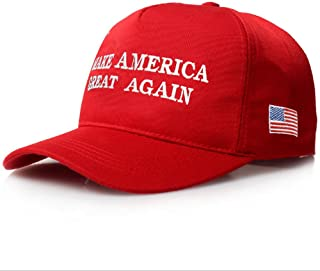 CATOP American Flag Baseball Cap Unisex 2016 Campaign Cap Make America Great Again - Donald Trump Sun Visor Hats