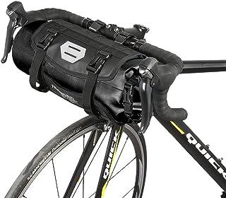 0695de2c305 Roswheel Bolsa Delantera de Bicicleta, 100% Impermeable Bolsa para los  Manillares de Bicicleta Apertura