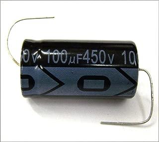 MIEC Qty. 6 New 100UF 450V 105C Axial Electrolytic Capacitors
