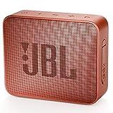 JBL GO 2 Portable Bluetooth Waterproof Speaker (Factory Certified Refurbished, Cinnamon)