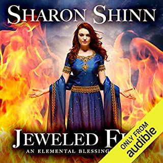 Jeweled Fire     Elemental Blessings, Book 3              By:                                                                                                                                 Sharon Shinn                               Narrated by:                                                                                                                                 Jennifer Van Dyck                      Length: 15 hrs and 47 mins     234 ratings     Overall 4.4